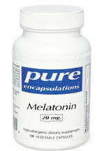 Melatonina 20 mg. Pure Encapsulations